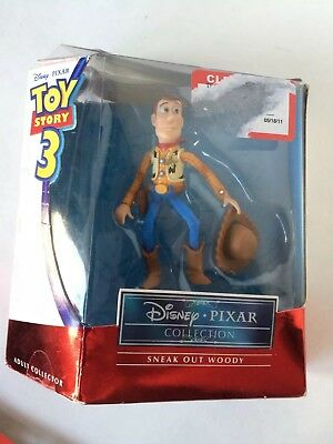 Toy Story 3 Sneak Out Woody Disney Pixar Collection Never Opened