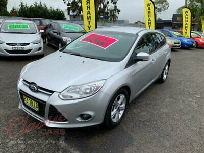2014 Ford Focus LW MK2 Upgrade Trend Silver Automatic 6sp A Hatchback