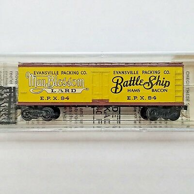 N Scale Kadee MTL Micro-Trains 49020 Evansville Packing Battle Ship Ham EPX 84