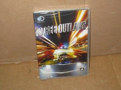 STREET OUTLAWS SEASON 1 (2 DVD Set) Discovery Channel DVD SEALED NEW REGION 1