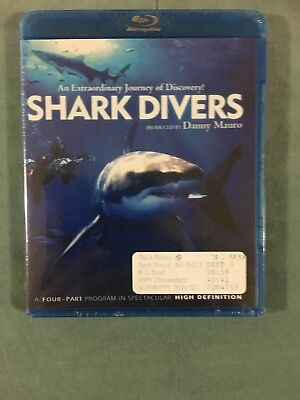 Shark Divers Blu Ray Disc Danny Mauro