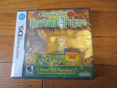 Professor Layton and the Unwound Future (Nintendo DS, 2010) NEW SEALED!