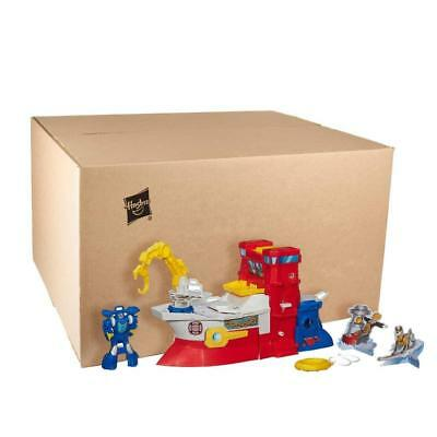 Rescue Bots Heroes Transformers High Tide Rig Playset