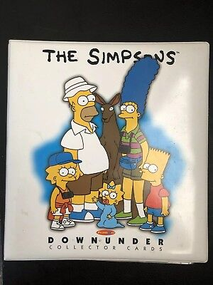 Tempo Trading / Collector Cards - The Simpsons Downunder - Down Under In Album