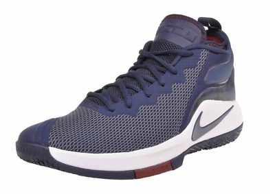 wholesale dealer 93073 b6cca Nike Zoom Witness II Lebron James Mid Blue Red White  100 942518-406 Mens  9.5