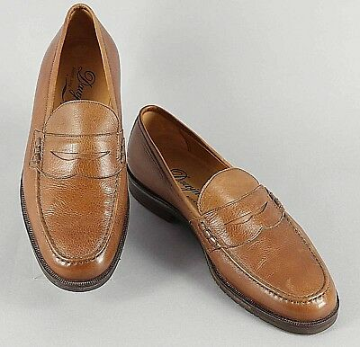 c43f3fe3ed5 ZAMPIERE MENS SHOES Loafers Brown Leather Business Np 239 New ...