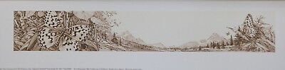 """Bev Doolittle New Magic Image Size : Image size is  1 7/8 """" by  12"""""""