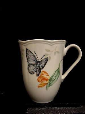 Lenox Butterfly Meadow Eastern Tailed Blue Mug, Safely Stored, Mint