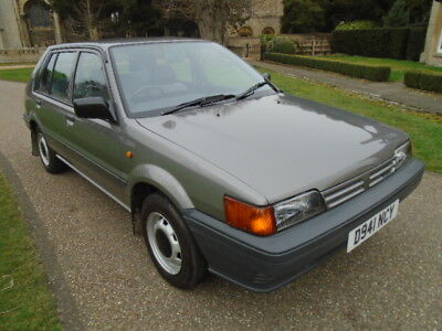 1987 Nissan Sunny 1.3 Lx Genuine 44696 Miles + 3 Owners From The Same Family.