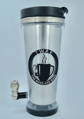Pipe Cup Wake and Bake mug and smoking pipe New disassembling Pipe Cup