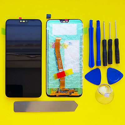 Huawei Honor 10 COL-L29 Complete LCD DIsplay Screen Digitizer finger print Black