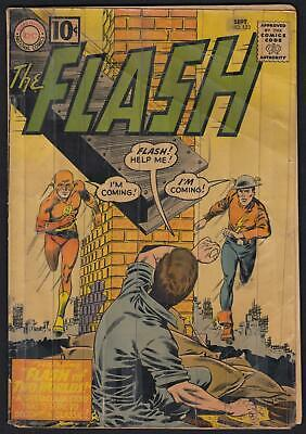 The Flash #123 1st App Earth-2 1st App Golden Age Flash in Silver Age PR