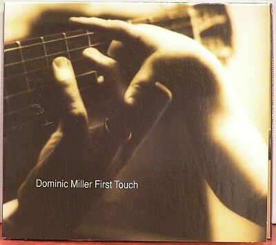 Dominic Miller  First Touch  LIKE NEW  Digipak  CD  2003  Jazz World Sting