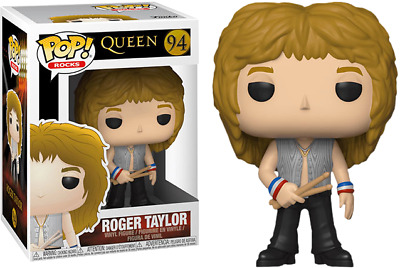 Queen - Roger Taylor Funko Pop Vinyl New in Box In Hand