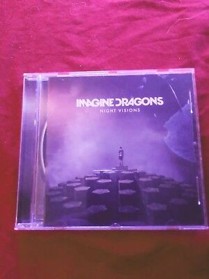 Imagine Dragons Night Visions On CD Used Mint Condition