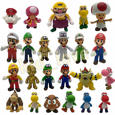 New Super Mario Bros. Odyssey Action Figure Plastic PVC Doll Toy Collectible