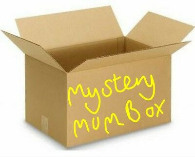 """MUM"" Mystery box, electronics dvds sweets jewelry health comfort goodies & more"