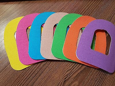 OmniPod Adhesive Patches Pre-Cut Waterproof CGM Sensor Protection Sticker 30Pack