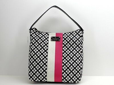 e158c24b2456 Kate Spade New York Classic Spade Mona Shoulder Bag Handbag Black Cream New!