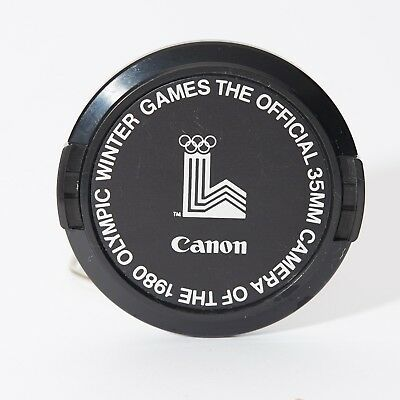 Canon Lens Cap 52 Mm Olympic Winter 1980