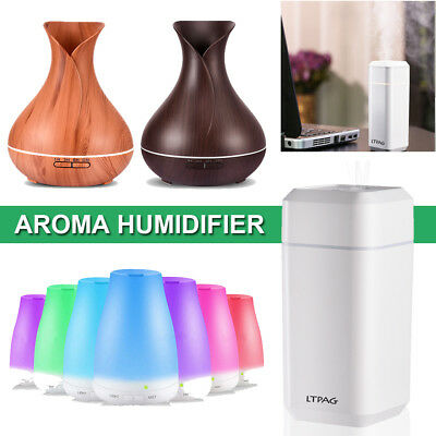7 Colors Aroma Humidifier USB LED Light Mini Air Humidifier For Home Office Room