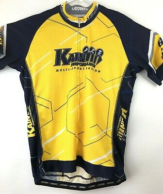 Verge Sport Cycling Yellow Jersey Core Relax Men s 2XL Kain Performance  Racing 0b0b2f44a