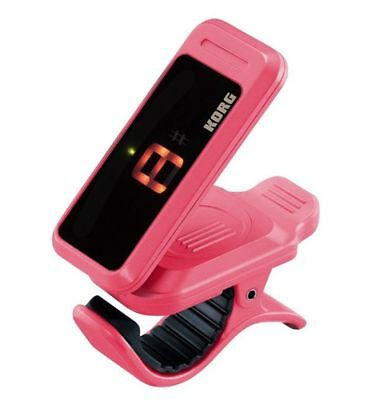 Korg PC-1 Pitchclip Clip-On Guitar Chromatic Guitar/Bass Tuner. Various Colors.