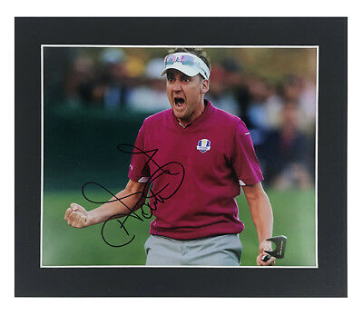 Ian Poulter Autograph - Signed Ryder Cup Medinah  Photo Display + *Certificate*