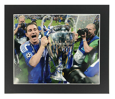 Frank Lampard Autograph - Signed Chelsea Football Photo Display + *Certificate*