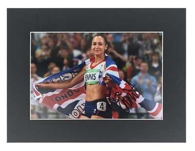 Jessica Ennis Autograph - Signed London 2012 Olympics Photo Display+Certificate