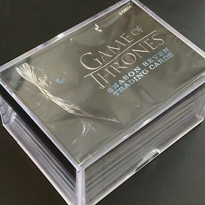 2018 Game of Thrones Season 7 by Rittenhouse Trading 81-Card Complete Set