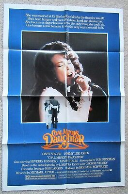 Coal Miners Daughter Movie Poster 24in x 36in