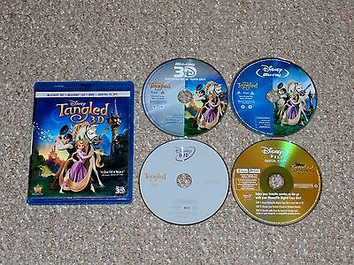 Tangled 3D/Blu-ray/DVD Combo 4-Disc Set Canadian