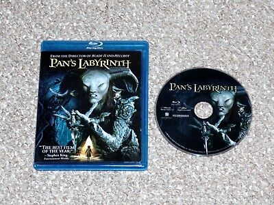 Pan's Labyrinth Blu-ray 2007 Guillermo Del Toro