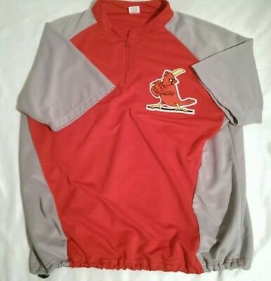 a0d508ae0 St. Louis Cardinals Warm Up Pullover Batting Practice Jersey Men s XL Very  Good