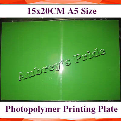 1 SHEET 20CMX30CM Photopolymer Plate Stamp Making DIY