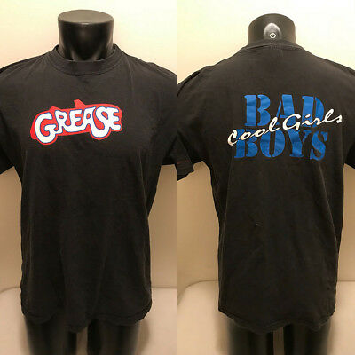 Vtg Grease Bad Boys Cool Girls 20th Anniversary Shirt Mens XL Made in USA