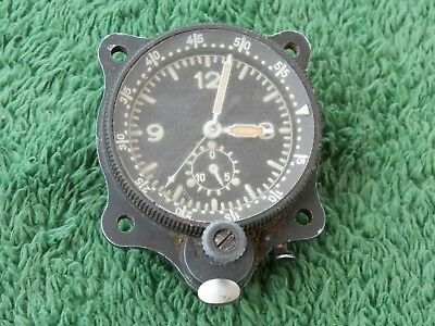 Rare Vintage Military Junghans Aviation Aircraft Clock Estate Find