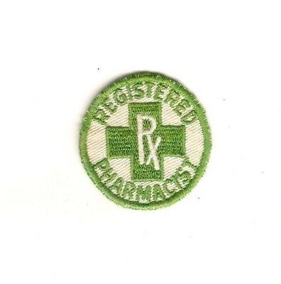 Registered Pharmacist Patch 2 inch