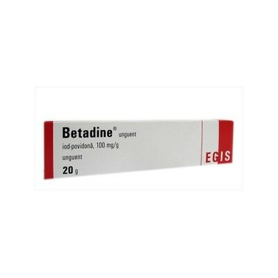 BETADINE Iodine Antiseptic Ointment 20g - Non-irritating, Skin Infection, Wounds