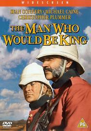 The Man Who Would Be King (DVD, 2003) John Huston, Sean Connery, Michael Caine