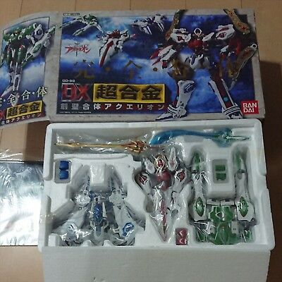 Holy Genesis Of Aquarion Dx Gd 99 Chogokin Very Good