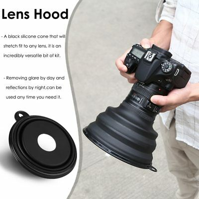 Ultimate Lens Hood Silicone Anti-Reflective For Camera Images Video Photographer