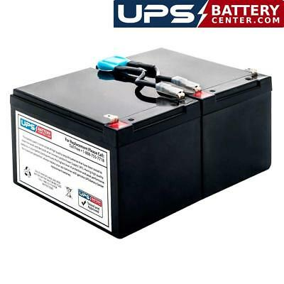 APC Smart-UPS XL 700 SU700XLNET Compatible Replacement Battery Kit with Harness