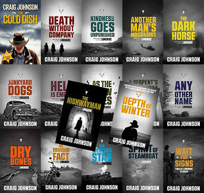 The WALT LONGMIRE Mysteries By Craig Johnson (17 MP3 Audiobook Collection)
