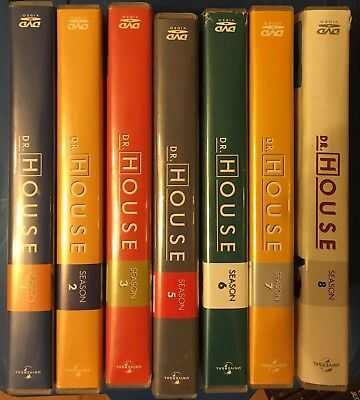Dr. House - Season/Staffel 1-3 5-8 Die komplette Serie (Gesamtbox)