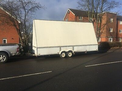 20ft x 6.8ft Advertising Trailer Twin Axle Great Start Up Advert Business