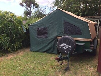 Heavy Duty Camper Tent Trailer FWD Off Road