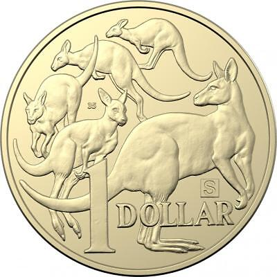 "2019 Australian $1 One Dollar Coin "" S, 35 "" Privy Mark - UNC from mint bag RARE"