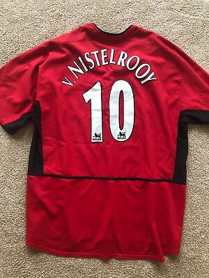 sports shoes 89e9c da835 RUUD VAN NISTELROOY manchester united nike jersey size xxl 2xl great  condition